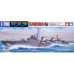 Tamiya 31429 1:700 Japanese Destroyer Sakura
