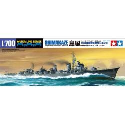 Tamiya 31460 1:700 Japanese Destroyer Shimakaze