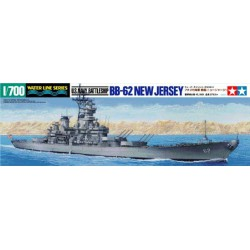 Tamiya 31614 1:700 U.S. Navy Battleship BB-62 New Jersey