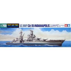 Tamiya 31804 1:700 USS Indianapolis CA-35