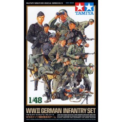 Tamiya 32512 1:48 German Infantry set