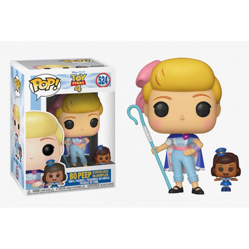 Funko POP Disney: Toy Story 4 Bo Peep w/Officer McDimples