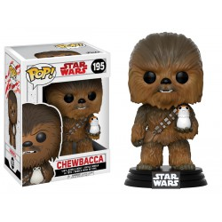 Funko POP Star Wars Bobble: E8 Chewbacca