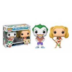 Funko POP DC 2 Pack: The Joker & Harley Quinn