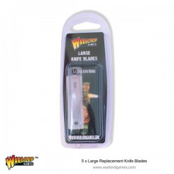 Large Replacement Knife Blades Warlord Games