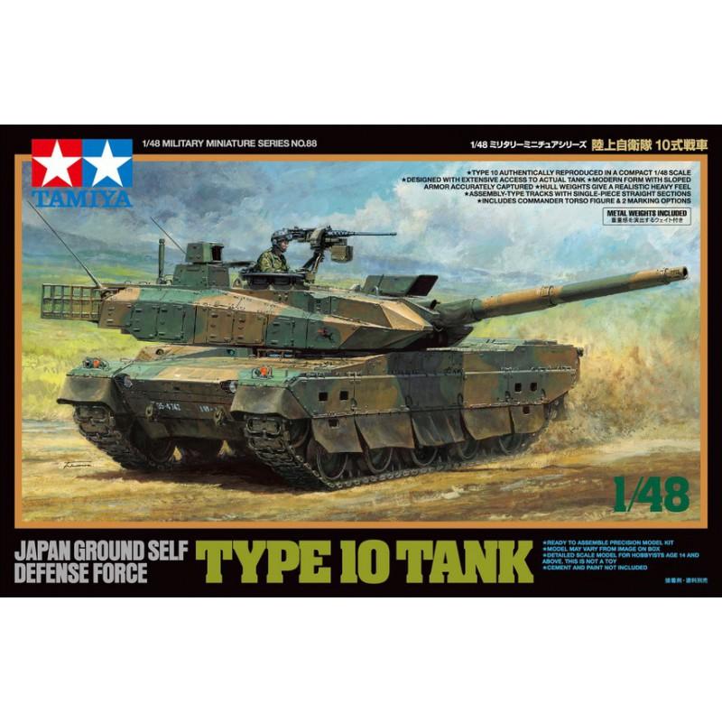 Tamiya 32588 1:48 JGSDF Type 10 Tank