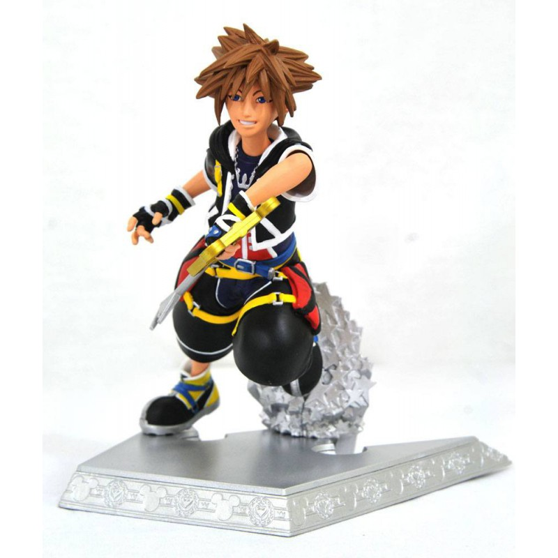 Figurka Kingdom Hearts Gallery PVC Statue Sora 18 cm