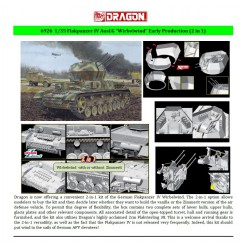"Dragon 6926 1:35 Flakpanzer IV Ausf.G ""Wirbelwind"" Early Production (2 in 1)"