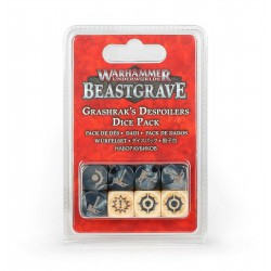 Warhammer Underworlds: Beastgrave – Grashrak's Despoilers Dice Pack