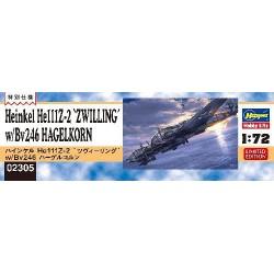 Hasegawa 02305 Heinkel...