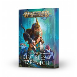 Warscroll Cards: Disciples...
