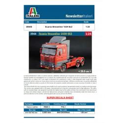 Italeri 3944 1:24 Scania...