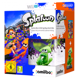 SPLATOON + AMIIBO SQUID (WiiU)