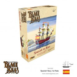Black Seas Spanish Navy 1st...