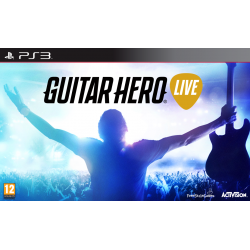 GUITAR HERO LIVE + GITARA (PS3)