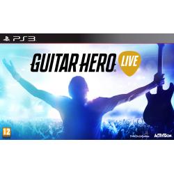 GUITAR HERO LIVE + GITARA (PS3)
