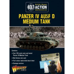 Bolt Action Panzer IV Ausf. D