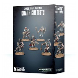 Chaos Cultists Chaos Space...
