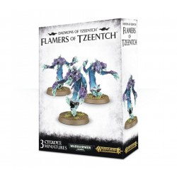Daemons of Tzeentch Flamers...