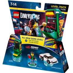 LEGO DIMENSIONS LEVEL PACK RETRO GAMES MIDWAY
