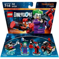 LEGO DIMENSIONS DC JOKER & HARLEY QUINN