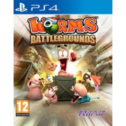 WORMS BATTLEGROUDS (PS4)