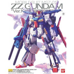 Bandai Gundam MG 1/100 ZZ...