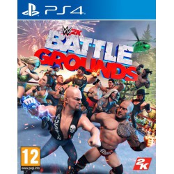 WWE Battlegrounds Ps4