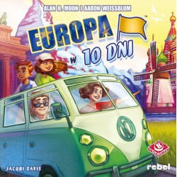 Europa w 10 dni Gra planszowa