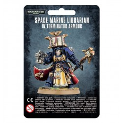 SPACE MARINE LIBRARIAN IN...