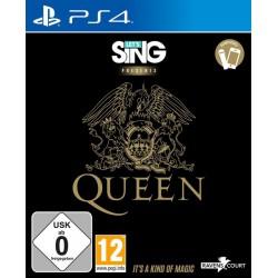 Let's Sing Presents Queen Ps4