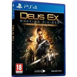 DEUS EX: ROZŁAM LUDZKOŚCI (PS4)