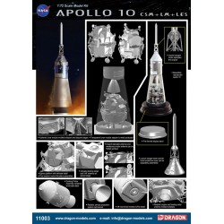 Dragon 11003 1:72 Apollo 10...