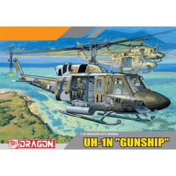 Dragon 3540 1:35 UH-1N...