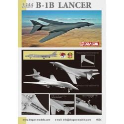 Dragon 4624 1:144 B-1B Lancer