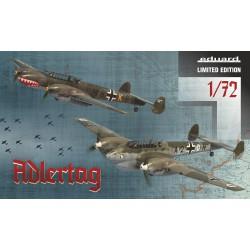 Eduard 2132 Bf 110C/D...