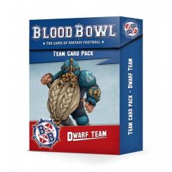 Blood Bowl: Dwarf Team Card...