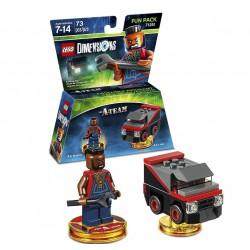 LEGO DIMENSIONS FUN PACK MR T / B.A. BARACUS