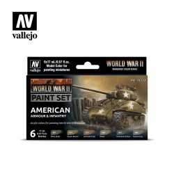 Vallejo 70203 WWII American...
