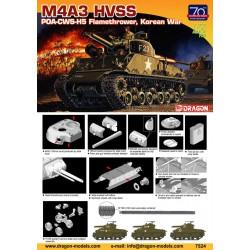 Dragon 7524 1:72 M4A3 HVSS...