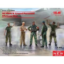 ICM 48087 1:48 US Pilots &...