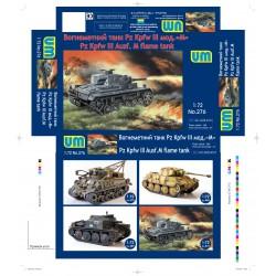 Unimodels 276 1:72 Panzer...