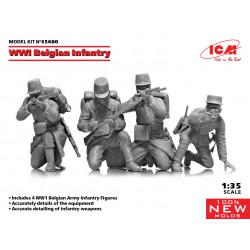ICM 35680 1:35 WWI Belgian...