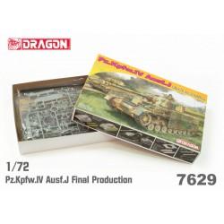 Dragon 7629 1:72 Pz.Kpfw.IV...