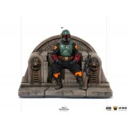 Figurka Boba Fett on Throne...