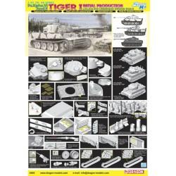 Dragon 6600 1:35 Tiger I...