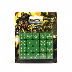 Warhammer 40000: Orks Dice Set