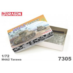 Dragon 7305 1:72 M4A2 Tarawa