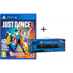 PS4 JUST DANCE 2017 + KAMERA