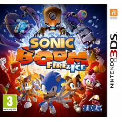 SONIC BOOM FIRE & ICE (3DS)